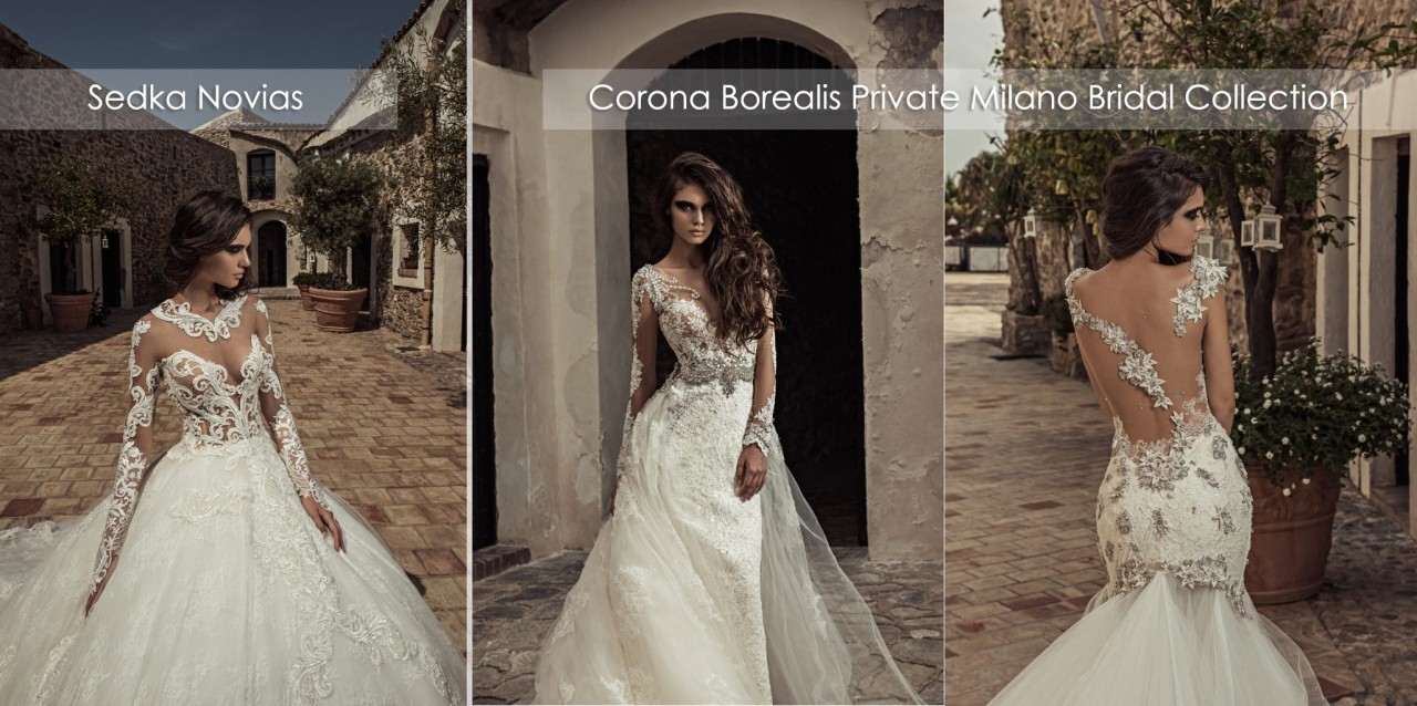 Corona Borealis Private Milano Bridal Collection